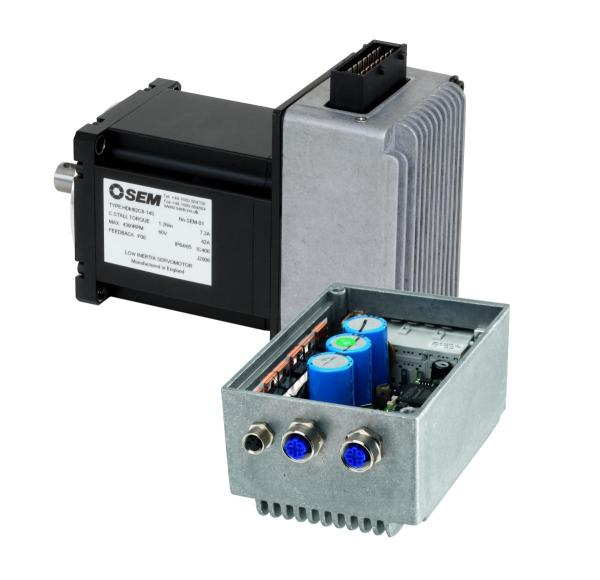 Servo motors and drive combos control in motion for Servo motors and drives