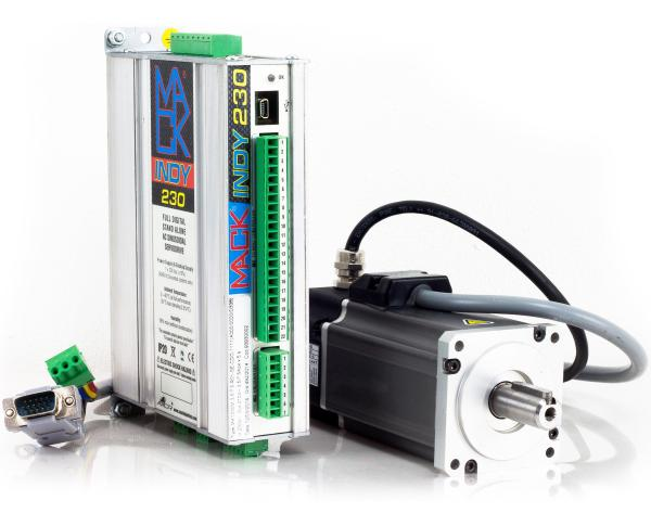 Axor Mack Indy Low Cost Compact Brushless Servo Drives