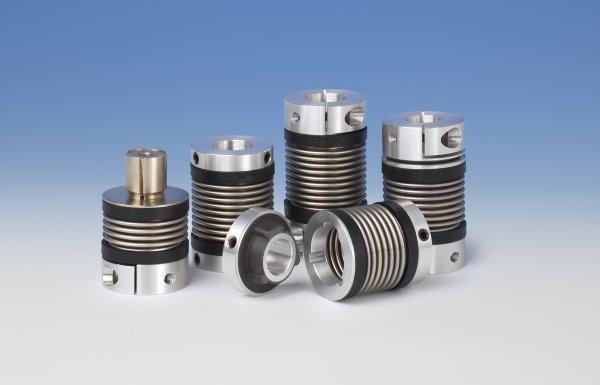 R w mk series miniature metal bellows couplings control