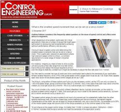 ITN - Control Engineering Europe, SSI